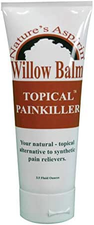 Willow Balm - Natural Pain Relief Cream, 3.5 fl oz