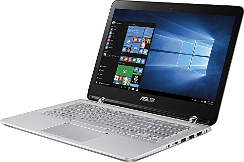 """Lastest Asus 2-in-1 Convertible Laptop Computer 13.3"""" Full HD TouchScreen Display (Intel Core i5-6200U up to 2.8GHz, 12GB RAM, 250GB Solid State Drive SSD, Backlit Keyboard, Bluetooth, Windows 10)"""