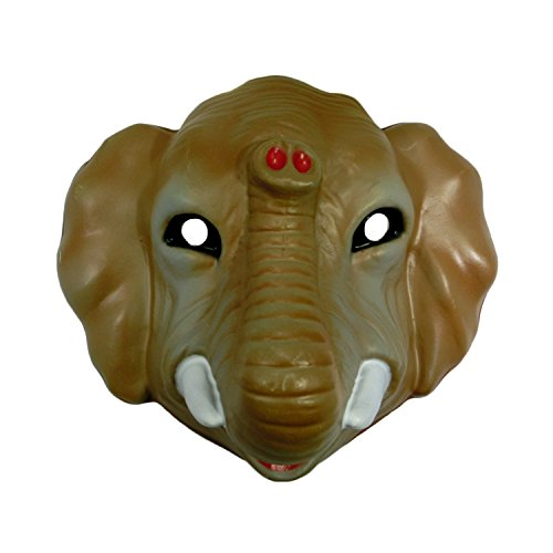Child Vintage Style Plastic Animal Mask Halloween Costume -