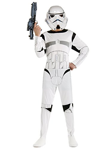 [Rubie's Costume Star Wars Stormtrooper, White, One Size Costume] (Star Wars Standard Stormtrooper Adult Costumes)