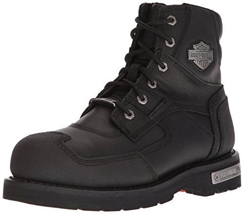 Harley-Davidson Men's Zak ST Industrial Boot, Black, 10.5 Medium US