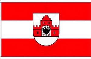 Banner Bandera Friede Burg–150x 500cm–Bandera y banner