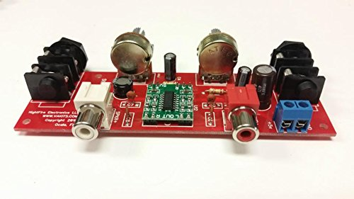 Dual Guitar Amplifier Kit by NightFire Electronics