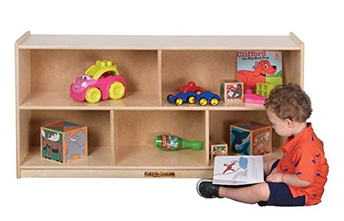 Kids' Station 24'' 5 Section Preschool Cabinet, Fully Assembled