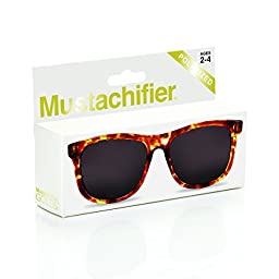Mustachifier Baby Opticals Polarized Sunglasses - Tortoise Shell, Ages 2-4
