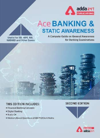 Ace Banking And Static Awareness Book for Bank PO   IBPS PO   SBI   RBI and other Bank exams (English Printed Edition)