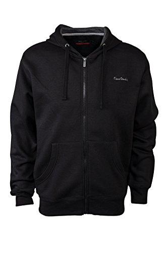 pierre-cardin-mens-new-season-full-zip-hooded-sweatshirt-large-black