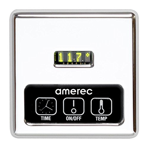 Amerec K60-CP Digital Control and Steamhead, Chrome Finish