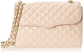 Rebecca Minkoff Quilted Affair Shoulder Bag,Latte,One Size
