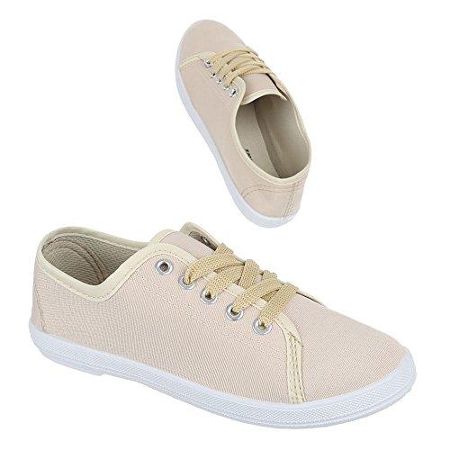 donna Beige Sneaker Ital Design beige TqBzT