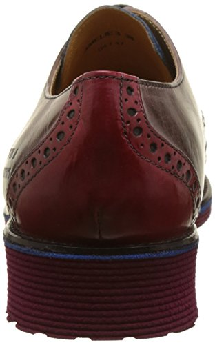 Amelie Hamilton Femme Rich amp; Multicolore 3 Red Blue Burgundy Derbys Stone Melvin Multicolore Pop ER5Bqwn