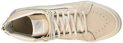 Vans Unisex Vans SK8-Hi Slim Zip Sneaker Flüstern Pink / Blanc De Blanc