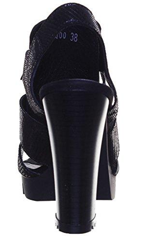 Justin Reece 6400 - Sandalias de vestir de Piel para mujer negro