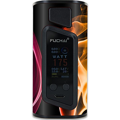MightySkins Skin Compatible with Sigelei Fuchai Duo-3 Vape (2-Battery Cover) - Bright Sigeleie | Protective, Durable, and Unique Vinyl wrap Cover | Easy to Apply, Remove | Made in The USA