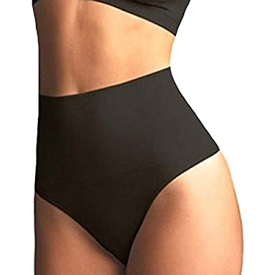 SHAPERQUEEN 103 Women Waist Cincher Girdle Tummy Slimmer Sexy Thong Panty Shapewear