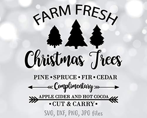 - Pene Farm Tree Decal Xmas Sign Retro Vintage Clip Art Pine Christmas Farm Fresh Decal Download Vinyl Decal Sticker