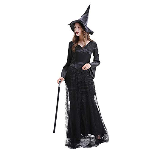 Women's Adult Party Fancy Sexy Maleficent Wicked Witch Halloween Costume Cosplay Costume Dress ()