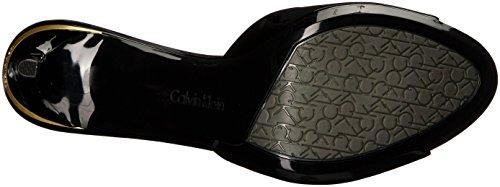 Calvin Klein Womens Luc Heeled Sandal Black t81uF