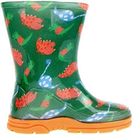 Peppa Pig LB10715, Stivali di Gomma da Lavoro Ragazzi, Verde