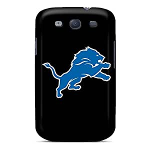 Shock-Absorbing Cell-phone Hard Covers For Samsung Galaxy S3 With Customized Attractive Detroit Lions 7 Pictures KimberleyBoyes