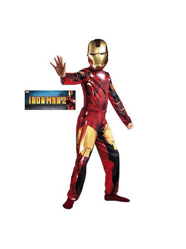 Iron Man Mark VI Classic Costume - Medium (Infant Iron Man Costume)