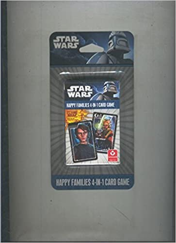 Baraja cartas: Star Wars, Happy Families 4-IN-1 Card Game ...