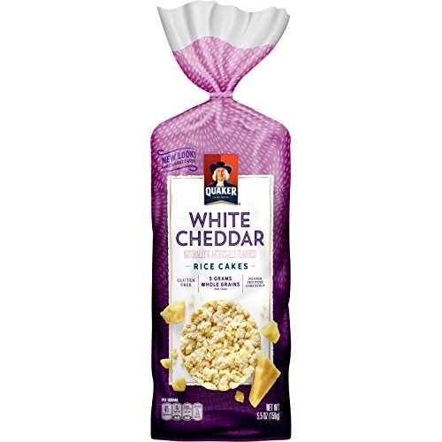 (Quaker Rice Cakes, White Cheddar, 5.46 Ounce)