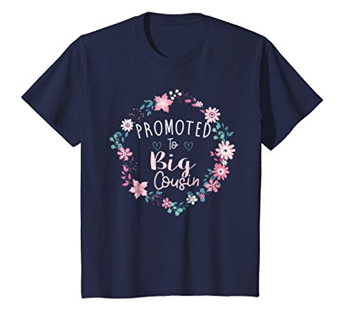 Kids Big Cousin Shirt, Promoted to Big Cousin Baby Announcement (Big Cousin And Little Cousin T Shirts)
