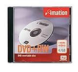 Imation 4.7GB DVD+RW (5-Pack)