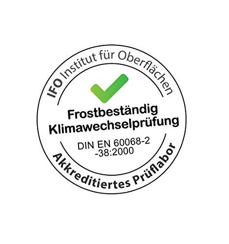 PFLANZWERK/® Maceta CUBE Chocolate 28x28x28cm *Resistente a las heladas* *Protecci/ón UV* *Calidad Europeo*