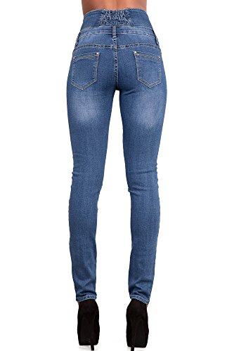 Lustychic Lustychic Donna Jeans Jeans Donna Blue Blue nxq6840OwZ