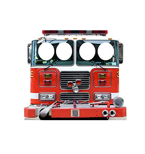 Advanced Graphics Fire Truck Stand-in Life Size Cardboard Cutout Standup -