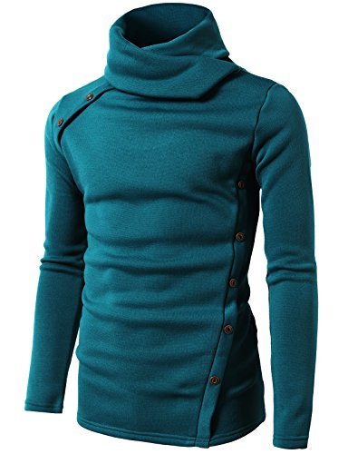 h2h-mens-slim-long-sleeves-high-neck-knit-shirt-pullover-sweater-teal-us-m-asia-l-cmttl065