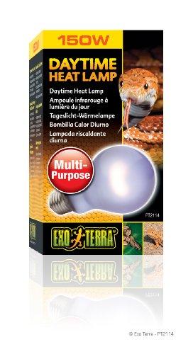 Exo Terra Sun-Glo Neodymium A21 Lamp, 150-Watt