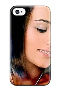 Faddish Phone Alizee Cloud Sexy Case For Iphone 4/4s / Perfect Case Cover