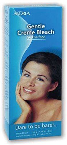 Andrea Gentle Creme Bleach for the face 1 kit (Pack of 10)