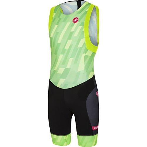 Castelli Free Tri ITU Suit - Men's Pro Green/Black, M