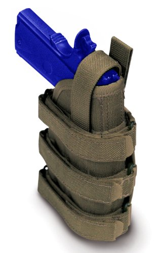 Uncle Mike's Accessory Adjustable Molle Compatable Universal Holster, OD Green by Uncle Mike's Law Enforcement