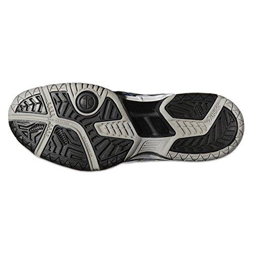 Asics Zapatillas de Tenis Para Hombre Gel Game 4, Color Negro, Talla 40.5 negro - negro