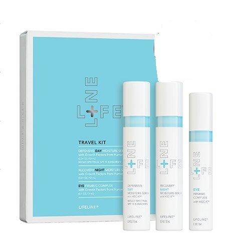 Lifeline Skincare Travel Set (deluxe mini collection)