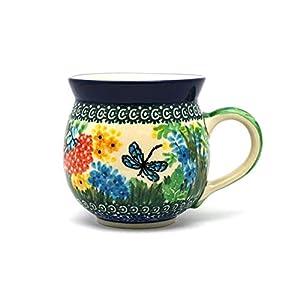 Polish Pottery Mug – 11 oz. Bubble – Unikat Signature U4612