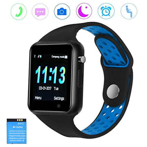 Smart Watch, Smart Watches DOROIM Bluetooth Sweat Proof Touch Screen Smartwatch Sleep Monitor, Pedometer Compatible Android, iOS, Samsung Phones