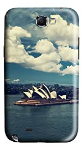 Sydney Opera House Polycarbonate Hard Case Cover for Samsung Galaxy Note II N7100