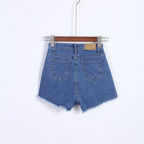 Alta Pantaloncini Retr Vita A Lihaer Donne q4wHIgBW