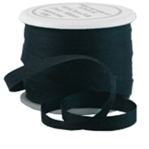 Silk Ribbon No. 002 4mm Black - 4 Sizes - 50 (Black Silk Ribbon)