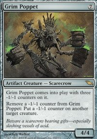 Magic: the Gathering - Grim Poppet - Shadowmoor (Artifact Creature Scarecrow)