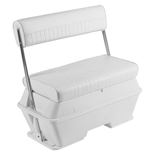 Wise 8WD159-784 Swingback Cooler Seat, 50-Quart, Cuddy Brite White (Seats Fishing Ice)