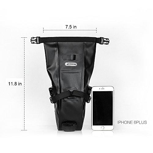 Waterproof Bicycle Saddle Bag Bike bag under seat bag Rainproof Mountain Road Bike Seat Bag Bicycle Bag Professional Cycling Accessories by Rhinowalk (Image #2)