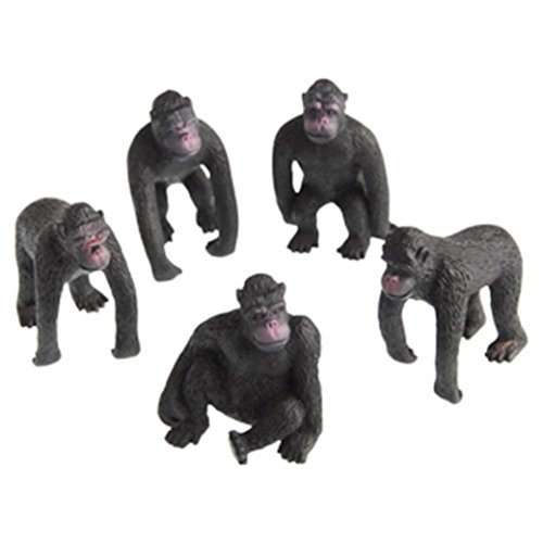 Lot Of 12 Assorted Gorilla Design Toy - Monkey Gorilla