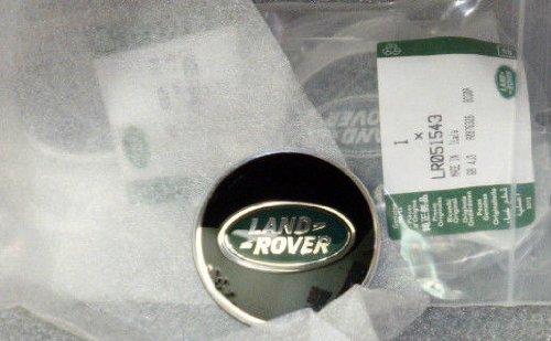 EuroActive Land Rover Logo OEM Range Rover Black Green & Yellow Wheel Cap Set of 4